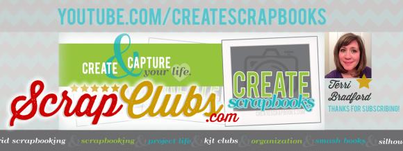 http://youtube.com/CreateScrapbooks CreateScrapbooks YouTube Channel Scrapbooking Videos Scrapbook Kit Clubs