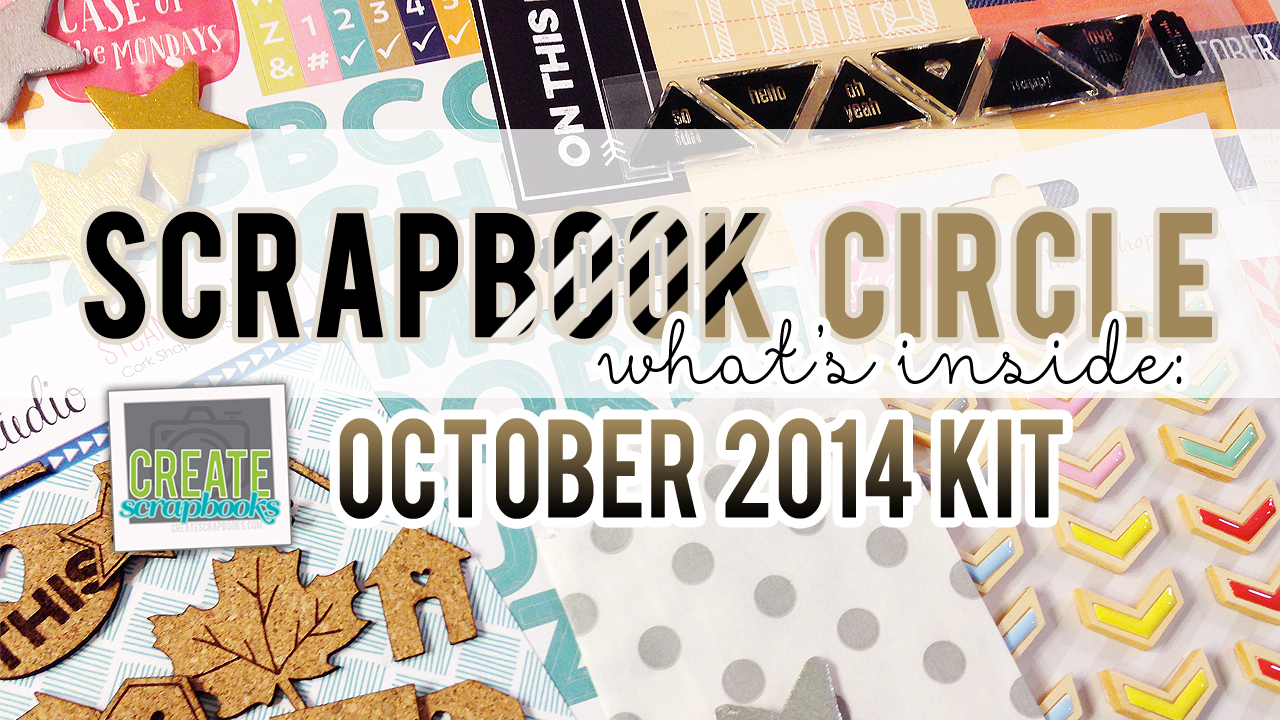 http://youtu.be/leQEXDT7jGw What's Inside VIDEO: Scrapbook Circle - OCTOBER 2014 - ON THIS DAY - with Scrapbook Circle Exclusives (Tags, Stamp, & Printable)