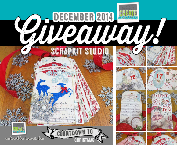 December 2014 GIVEAWAY: CreateScrapbooks.com YouTube channel